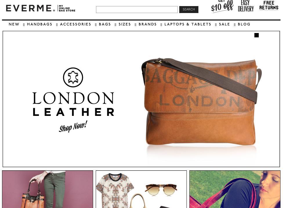 EverMe: Australia's Answer to Buying Bags Online