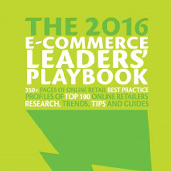 Pre-Order Now! The 2016 E-Commerce Leaders' Playbook