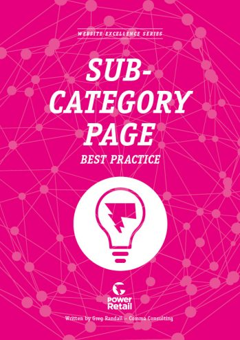 Sub-Category Page Best Practice