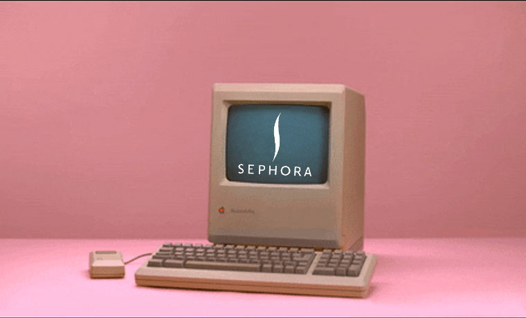E-Commerce Time Machine: Sephora
