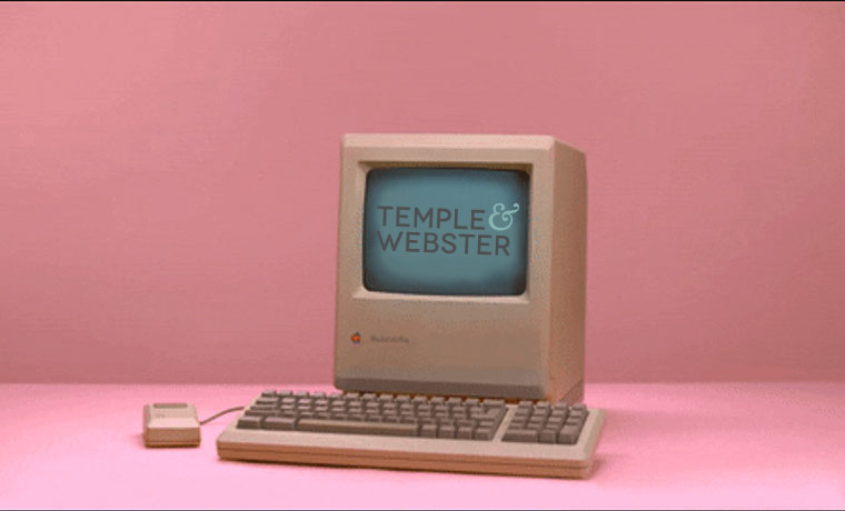 E-Commerce Time Machine: Temple & Webster