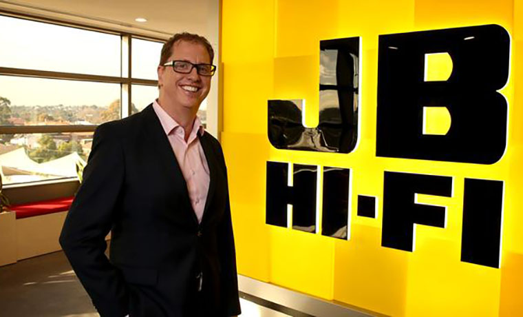 JB Hi-Fi Online Sales Skyrocket 201.9 Percent in HY21