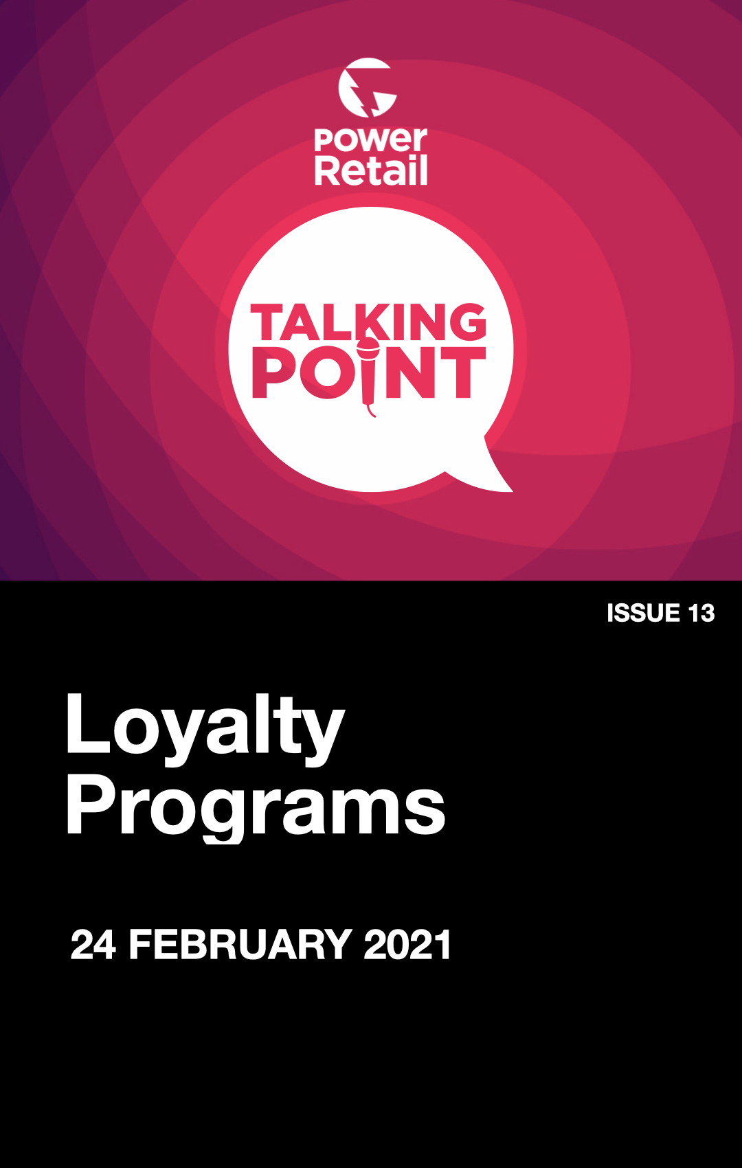 Talking Point Report #13