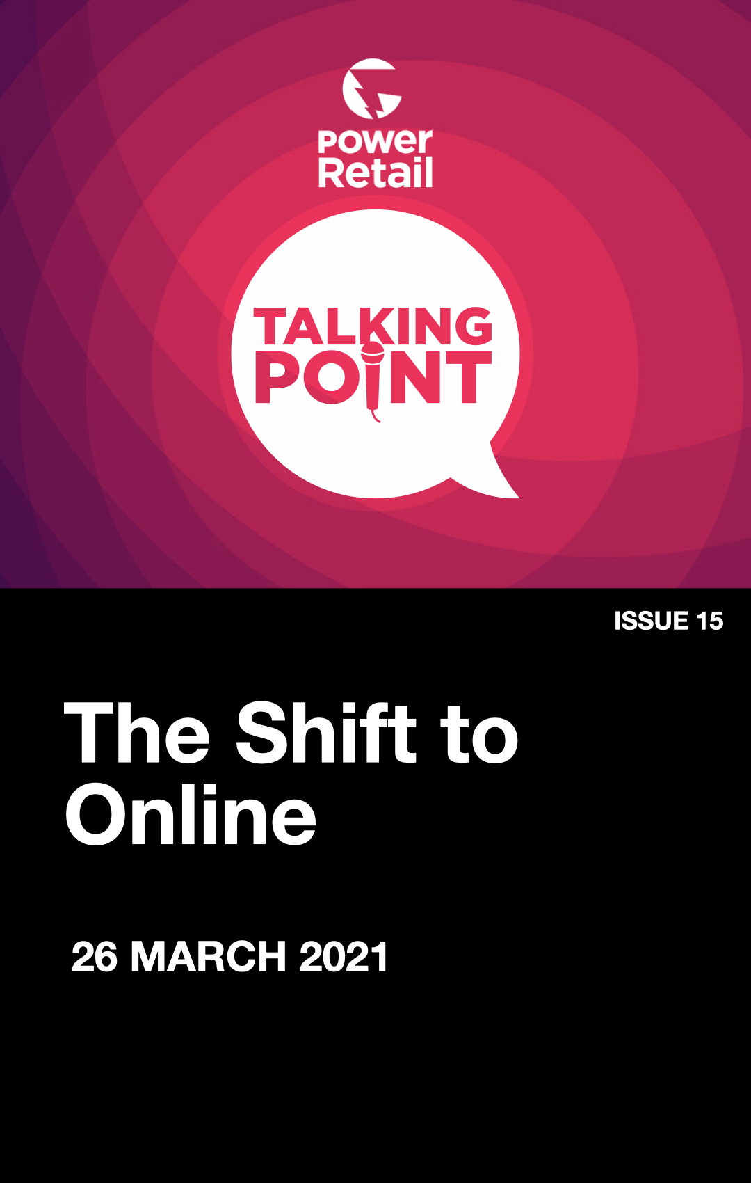 Talking Point Report #15