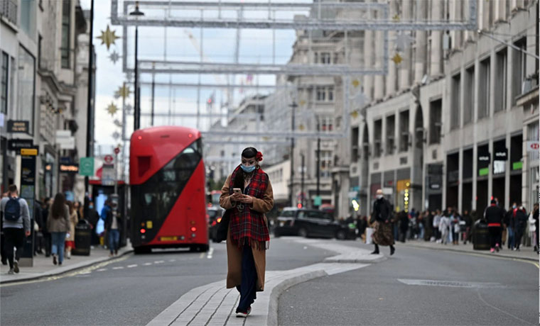 As London Re-Opens, Online Orders Drop 12 Percent